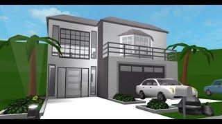 New Aesthetic Bloxburg House! (Roblox - Bloxburg)