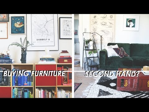SECOND HAND FURNITURE // Dos And Don'ts