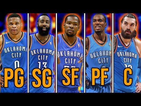 Ranking the 10 BEST Starting 5's if Every Player Played For the Team That Drafted Them