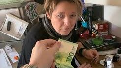 Ich schenke meiner Mama 100€ alle 10 MINUTEN an ihrem Geburtstag🎁 (sie weint.)