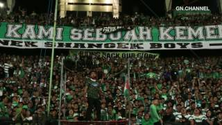 GREEN NORD In action Persebaya Vs Martapura