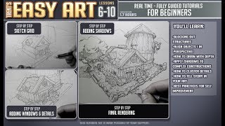 FINALLY! Easy Art Lessons 6-10 Trailer