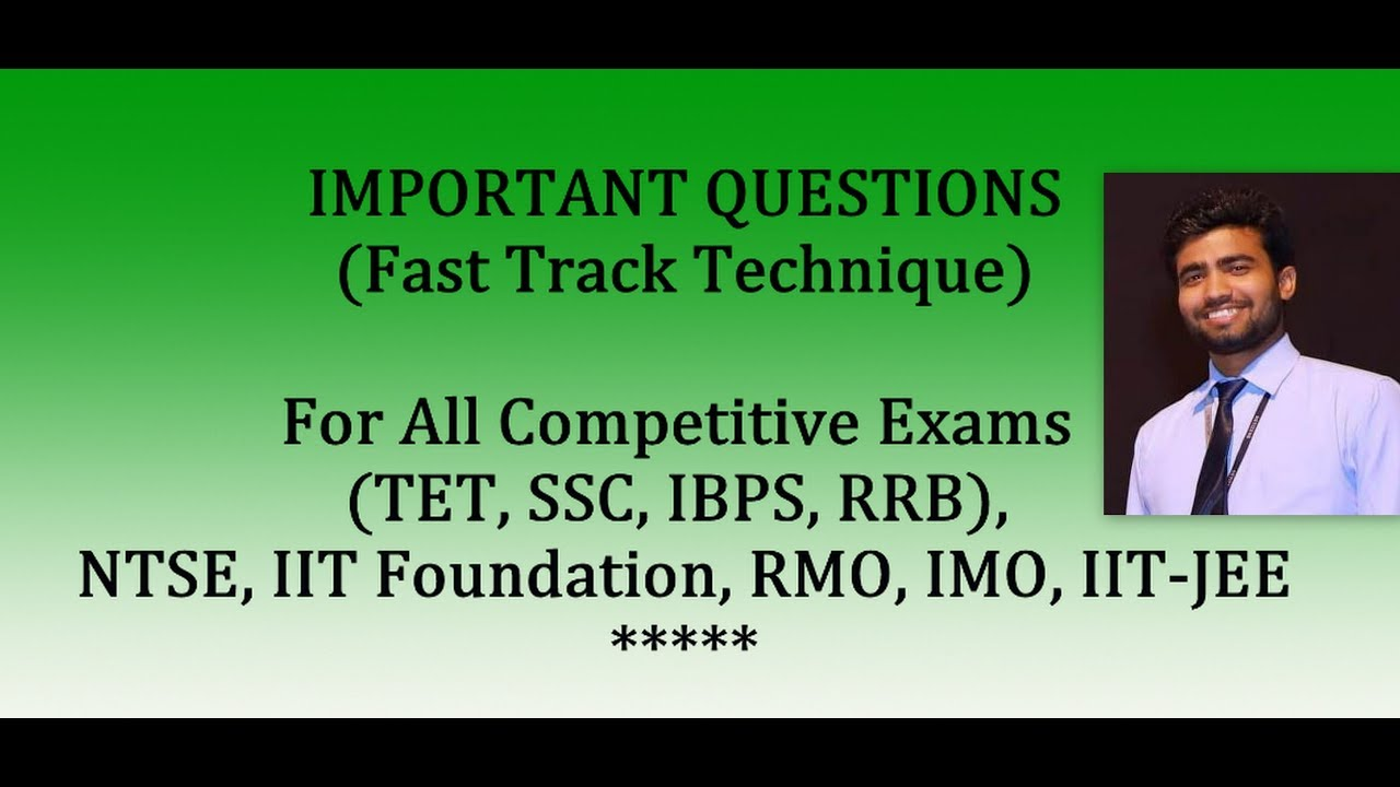 Important Triangle Question / For Competitive Exams / IIT – JEE, IMO