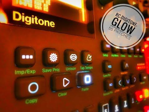 Elektron Digitone - RC Glow Bank - 55 patches