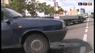 Grav accident rutier la intrare în Năvodari - Litoral TV