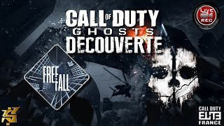 Call Of Duty Ghosts l Free Fall l Découverte/Gameplay/Impréssion l Live Réaction