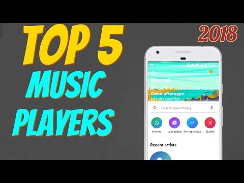 TOP 5 Music Players  Top 5 Apps Series  EP02  2018