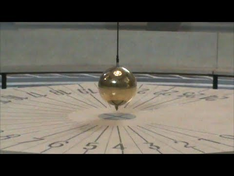 Foucault Pendulum Sand