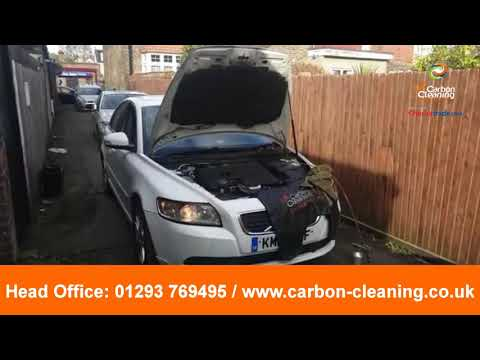 Volvo V40 DPF cleaning