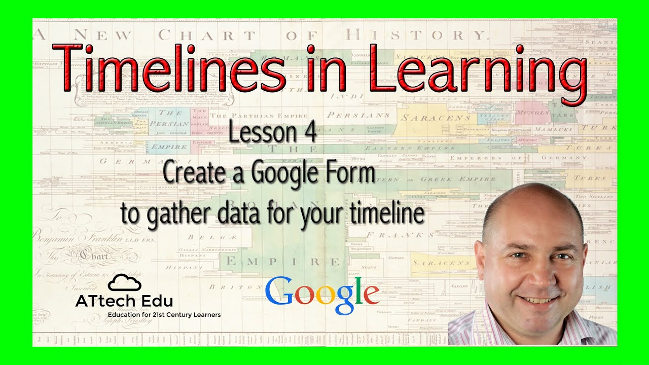 timelines in learning lesson 4 create a google form to gather