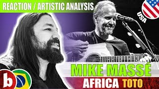 MIKE MASSÉ & JEFF HALL! Africa (TOTO COVER) - Reaction (SUBS)