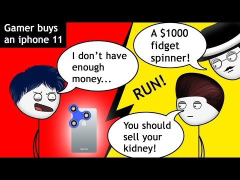When a gamer sells his Gaming PC for an iPhone 11