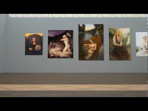 ARTFunatic: Elisabeth de Lunde (Exhibition Preview) HD