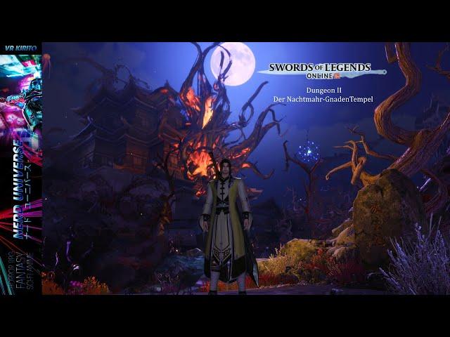 Swords Of Legends Online | Dungeon: Der Nachtmahr-Gnadentempel | Berserker Klasse  ☬ Deutsch [PC]