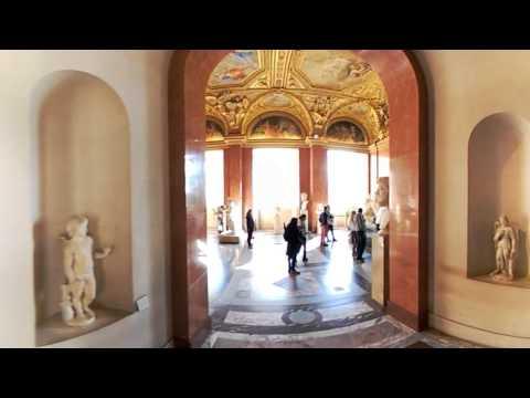 Louvre Museum VR 360 View - Anne of Austria Apartments - Paris, France - LG 360 Camera