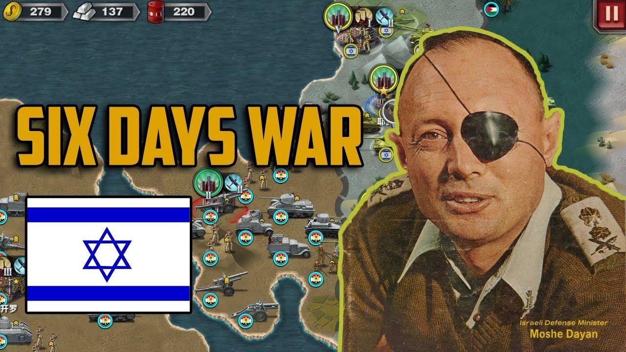 Six Days War World Conqueror 3 Extended Map Mod