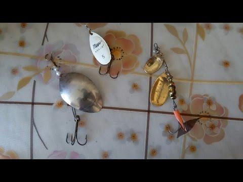 самодельные блёсны для ловли щуки и окуня из ложки