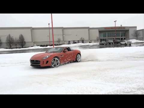 2014 Jaguar F-Type V-8 S Roadster - Laughing in the Face of the Polar Vortex