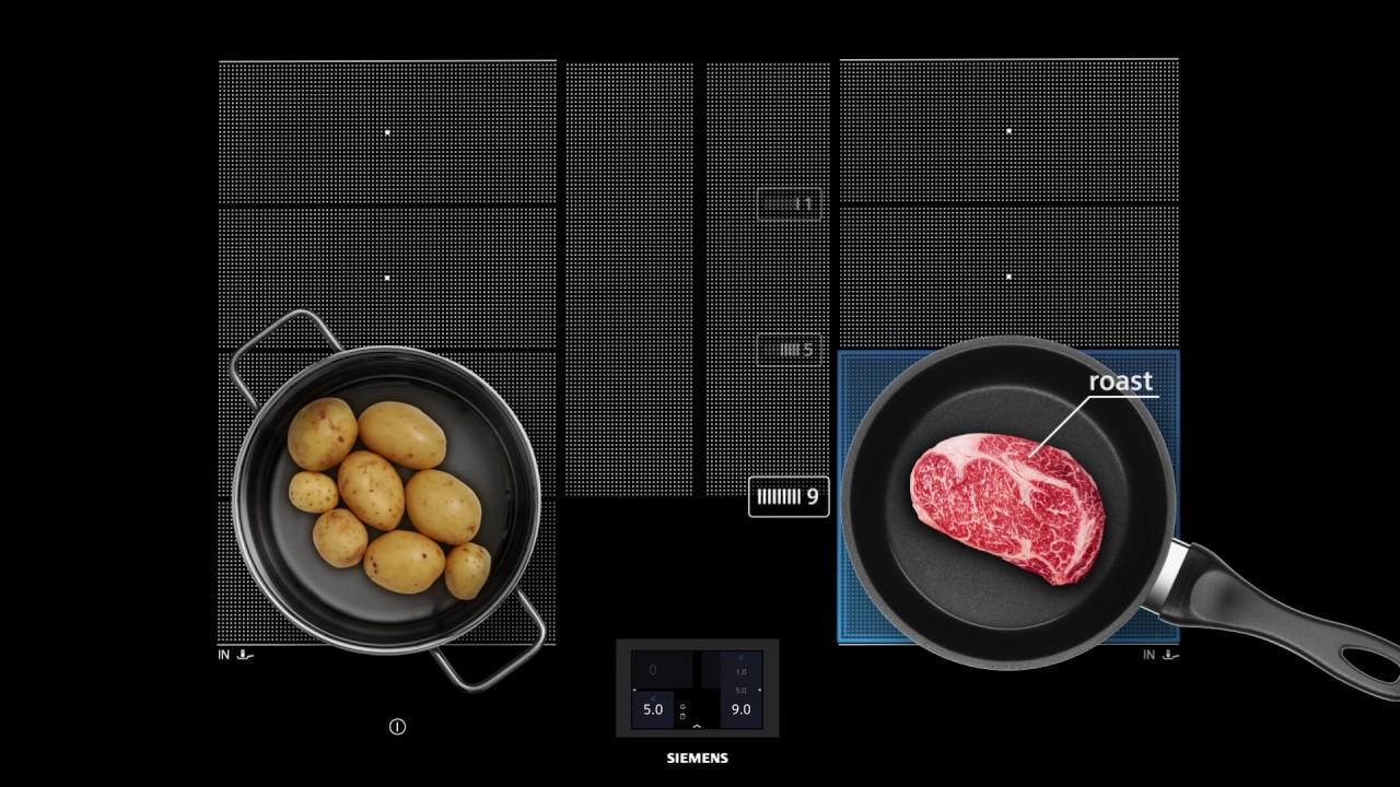 Nuovi piani cottura ad induzione Siemens iQ700  YouTube