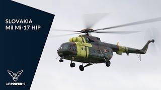 Mil Mi-17 HIP SLOVAKIA AIR FORCE Display | AIRPOWER19