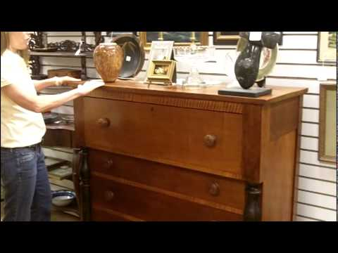 dating antique dressers