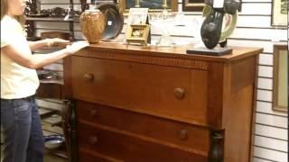 Antique Furniture, Antique Dresser Chest Of Drawers