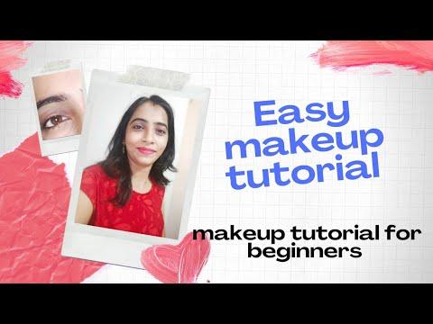 easy makeup tutorial  basic makeup tutorial for
