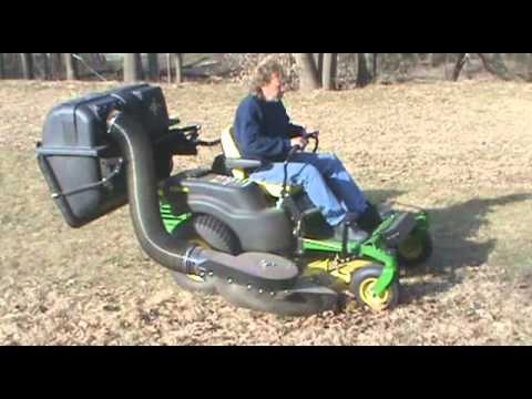 Protero New Residential Er And Lawn Bagger Vacuum On John Deere Z Trak Series You