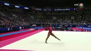 Simone Biles Floor Exercise 2016 U.S Olympic Trials Day 2