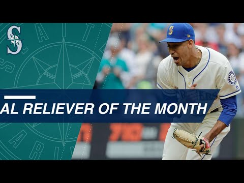 Edwin Diaz named AL Reliever of the Month for June