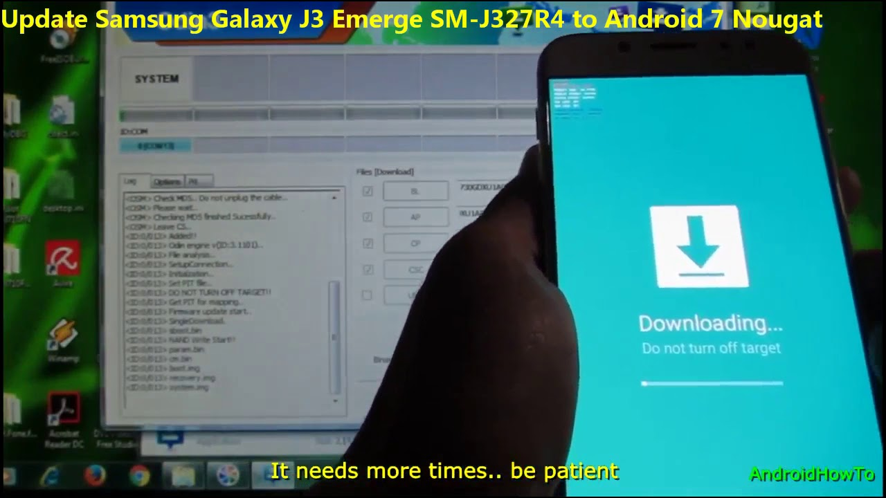 Samsung Galaxy J3 Emerge Android Nougat Videos - Waoweo