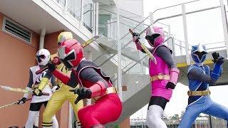 Power Ranger Ninja Steel | Transformación y Batalla - Capitulo 2