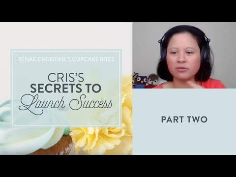 Part 2: Cris's Secrets to Launch Success - how to start a craft business from home