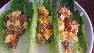 Breakfast Lettuce Wraps | Quick & Healthy Recipe
