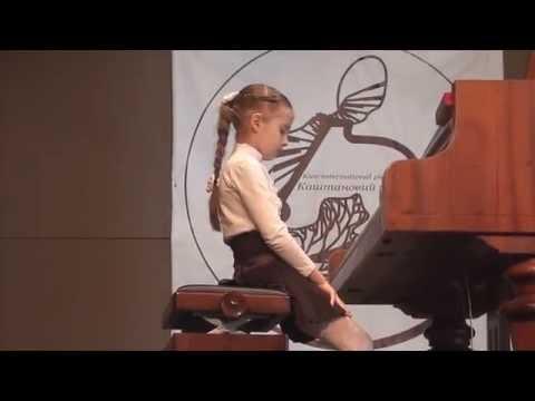 Image of Ева Ерошенко 8 лет фортепиано Конкурс Каштановый рояль II премия