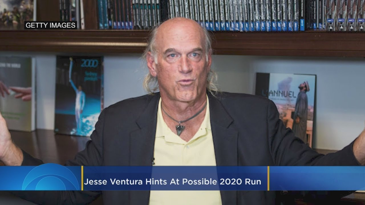 'I May Be Doing Things Behind The Scenes': Jesse Ventura Hints At Possible 2020 Run
