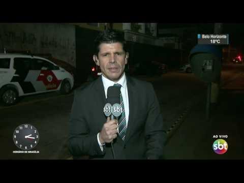 Bandidos morrem durante troca de tiros com a polícia em São Paulo - SBT Notícias (24/03/17)
