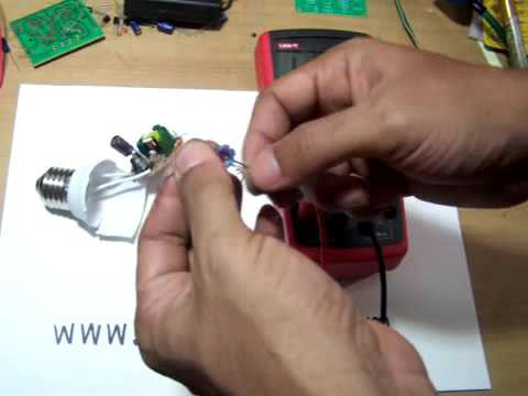 DIY inductor coil from compact Fluorescent Light - ElecCircuit