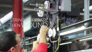 D'Addario Orchestral Strings | A Symphony of Innovation | Farmingdale. New York Factory Tour