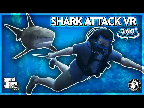 Attacked By a Shark In Virtual Reality – GTA 360° Experience