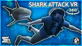 Attacked By a Shark In VR - GTA V 360° thumbnail