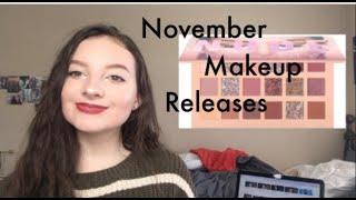 November Releases 2018 | NEW MAKEUP