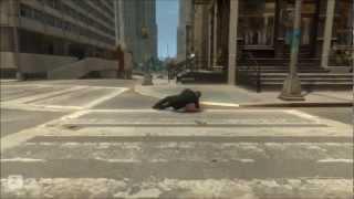 GTA 4 Stunts and Crashes. Аварии и приколы.