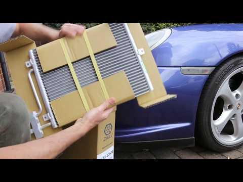 Porsche 911(996/986) Air Con Condenser/Radiator Replacement-How to Remove & Fit New (Cayman/Boxster)