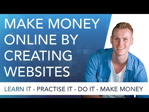 #8 Make Money Online By Creating Websites