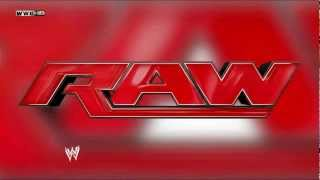 "WWE RAW New Theme 2012 ""The Night"" by Kromestatik  [NOT FULL]"