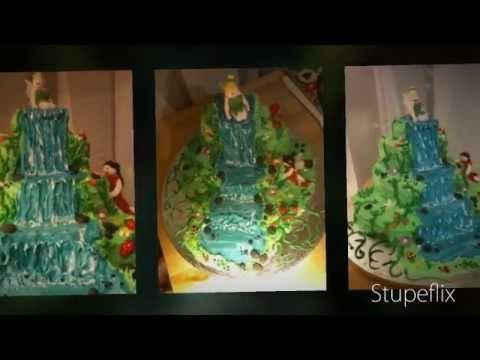 Fondant Fetish Fairy Waterfall Cake Youtube