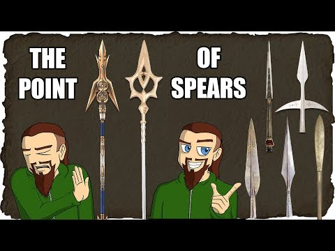 Some Points About the Shape of Spears
