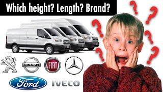 Vanlife: Which Van is the best?