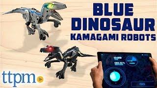 "Kamigami Robots - Jurassic World Indoraptor & Velociraptor ""Blue"" Dinosaur | Mattel Toys"